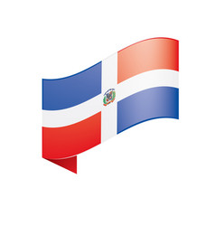 dominicana flag vector image