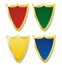 shield pattern vector image