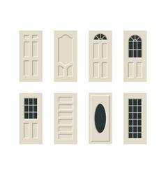 doors set vector image vector image