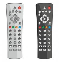 remote controls vector image vector image