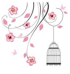 cage swirls vector image