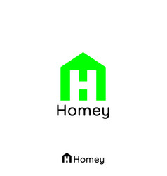 construction logo for home and real estate with vector image