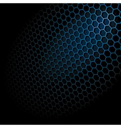 Hexagon grid vector