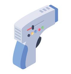 Medical laser gun vector