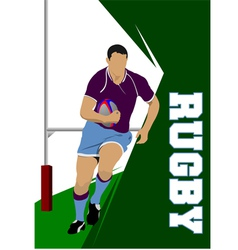 Rugby 02 vector