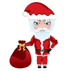 Santa with Bag vector