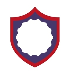shield america united states vector image