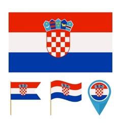 Croatia country flag vector image