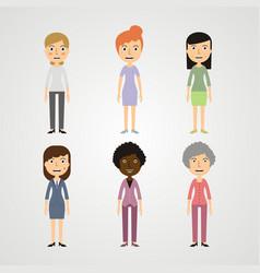 people - women vector image vector image