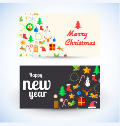 celebrating greeting cards template vector image vector image