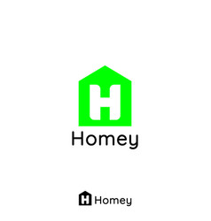 construction logo for home and real estate with vector image vector image