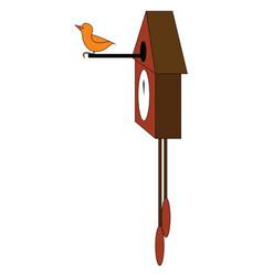 A cuckoo clock or color vector