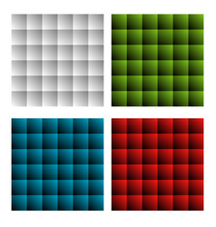 colorful rectangles abstract background vector image