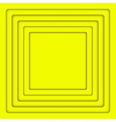 Concentric Yellow 6 Square Background vector