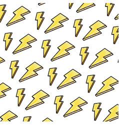 Doodle nice light thunder art background vector