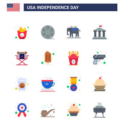 Happy independence day usa pack 16 creative vector