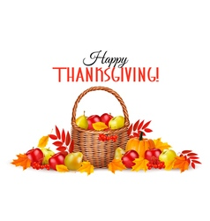 Happy Thanksgiving Background vector