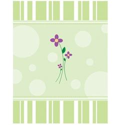 Purpleflowers vector