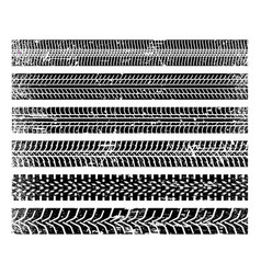 traces tire vector image
