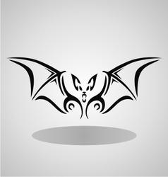 tribal bat vector image