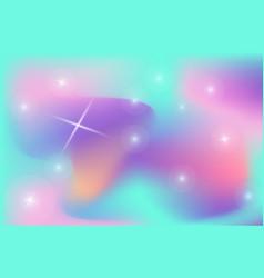unicorn backdrop background color gradient mesh vector image