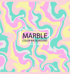 Abstraction stylish colorful creative marble vector