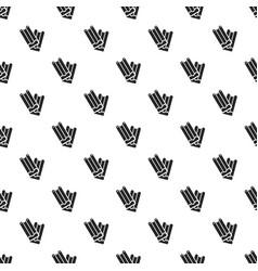 chocolate stick pattern seamless vector image
