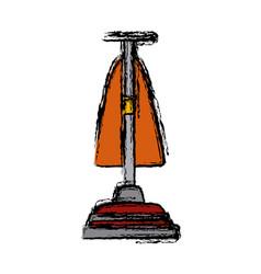 hoover vacuum cleaner vector image