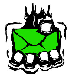 Mail grasp vector