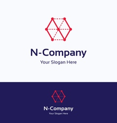 N company logo vector