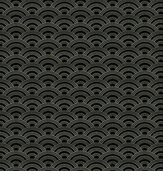 Oriental waves pattern vector image vector image