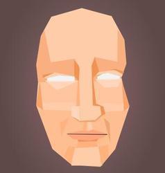 Polygonal face vector