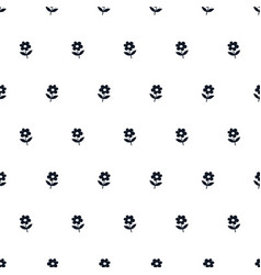 simple pattern in black and white colors vector image