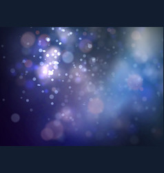 soft dark bokeh background with smooth light vector image