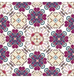 Spanish traditional ornament Mediterranean vector