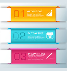 Three stylish banner set vector
