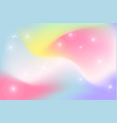 unicorn backdrop background color gradient mesh vector image