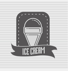 design concept of label badge or logo with vector image