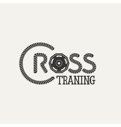 Cross Training logo vector image vector image