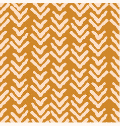 herringbone rough mustard color seamless vector image vector image