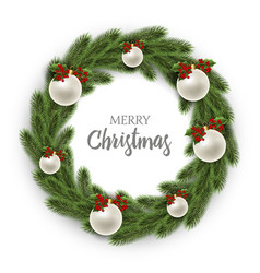 merry christmas or xmas and new year collection vector image