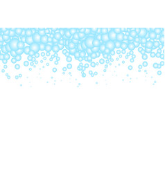 bubbles design water background vector image