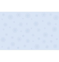 Christmas with snowflakes vector