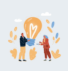 Group people working vector