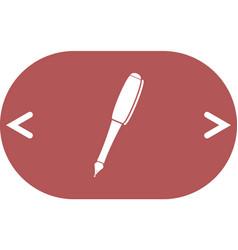Pen - icon vector