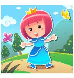 Princess Lily vector