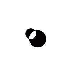 Simple-eclipse-black-idea-logo vector