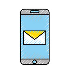 Smartphone device with envelope vector