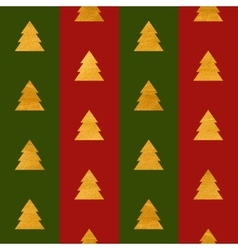 Christmas seamless geometric gold textured pattern vector image