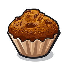 muffin vector image vector image